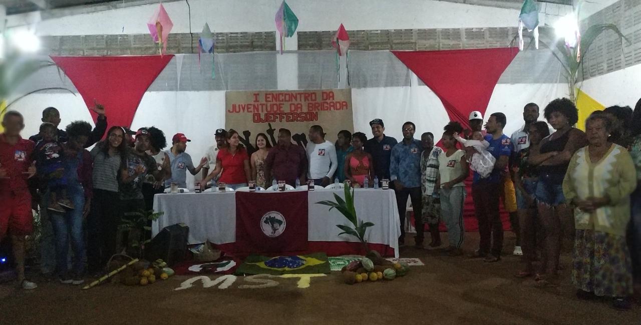 Juventude Sem Terra realiza encontro no Baixo Sul da Bahia