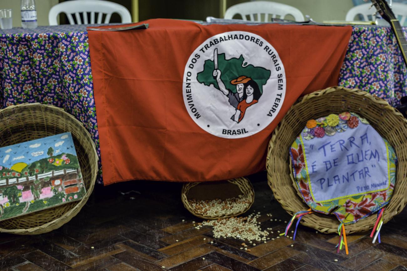 MST presta solidariedade ao centro Paulo Freire em Normandia , em Pernambuco