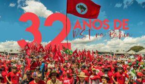 MST completa 32 anos na Bahia