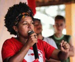 Para organizar a resistência, o MST na Bahia OPTOU por Lucinha presidenta do PT!