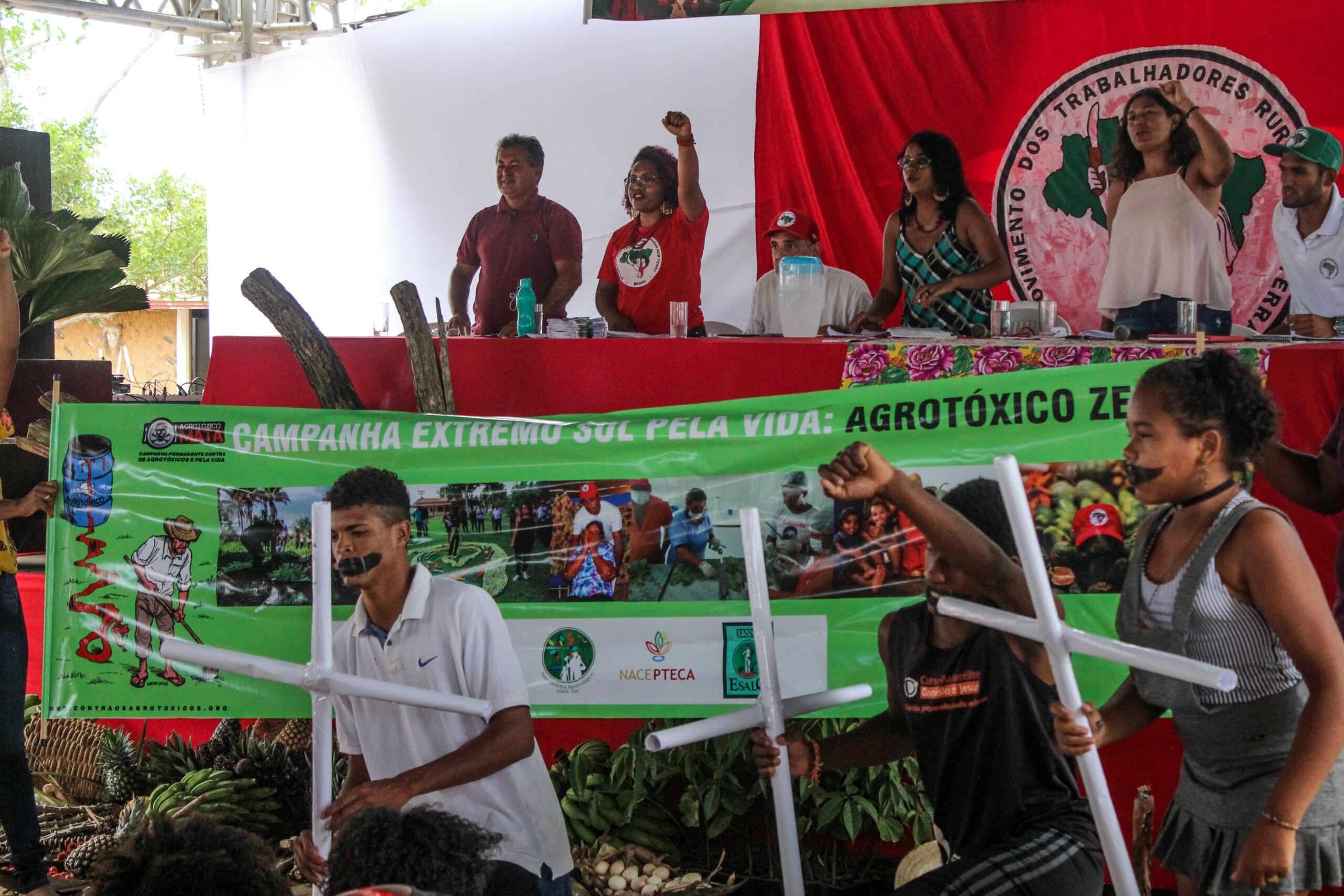 Regional Extremo Sul, retoma campanha contra uso de agrotóxicos no seu 32° Encontro Regional