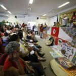 O MST na Bahia iniciou hoje o 21º Encontro de Educadores e Educadoras da Bahia.