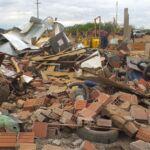 Os sonhos de 700 famílias foram destruídos hoje pela CODEVASF com total apoio do governo federal.