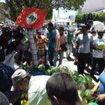 Sem Terras fazem doação de alimentos no Nordeste da Bahia