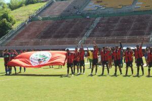 MST ocupa o Estádio do Pituaçu em Salvador com a final da 1º Copa Estadual da Reforma Agrária
