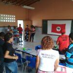 Plantio de arvores marca a Primeira Reunião da Direção Regional do MST na Chapada Diamantina