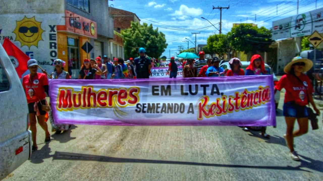 Jornada de luta das Mulheres pela Bahia