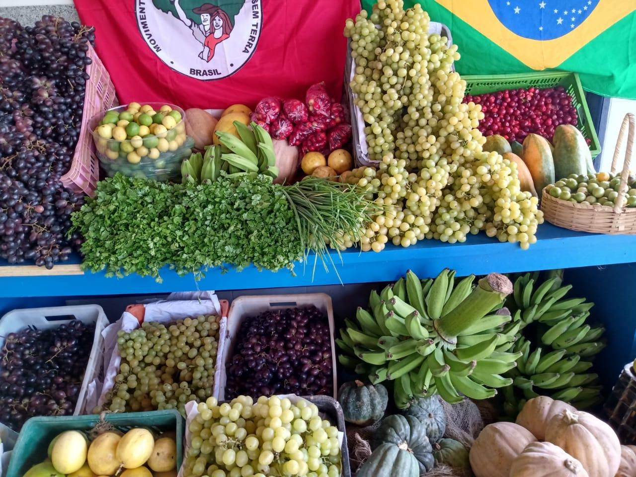 200 toneladas de alimentos são doadas ao povo baiano pelo MST