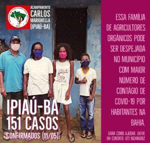 Rede Nacional de Advogados e Advogadas Populares (RENAP)  da Bahia, protocola ofícios contra despejos em áreas de Reforma Agrária