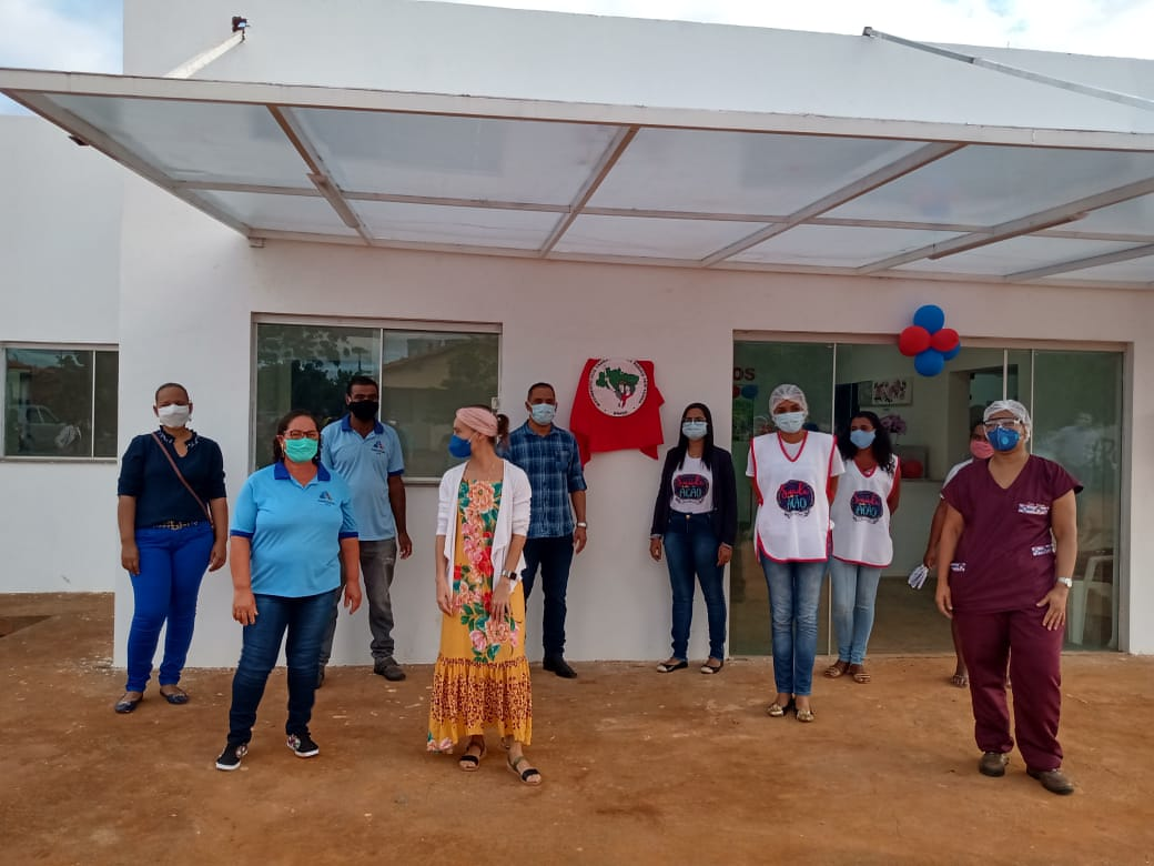 Assentamento União da Chapada em Itaetê inaugura Unidade Básica de Saúde