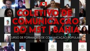 MST da Bahia realiza primeiro Curso de Comunicadores Populares Virtual