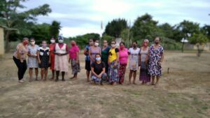 Mulheres Sem Terra Pre assentamento Nazaré no município de Itabela, realizaram seminário de empoderamento.