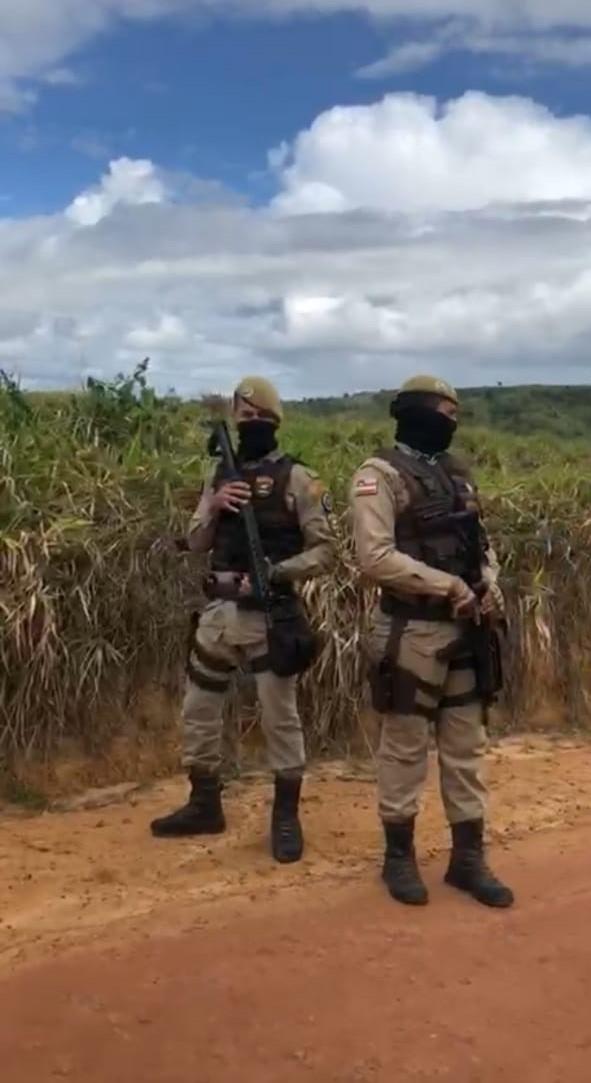 Famílias Sem Terra sofrem ataque no Extremo Sul da Bahia após interferência do INCRA e PM no assentamento.