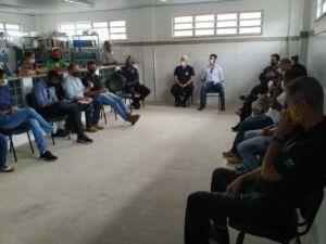 MST na Bahia recebe o Procurador Federal dos Direitos dos Cidadãos, em dialogo sobre a vinda da Força Nacional