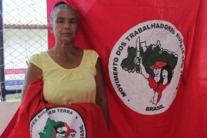 Conheça Marinalva de Jesus, assentada em uma das áreas que o Incra diz ser preciso o uso da força nacional para segurança de equipe técnica.