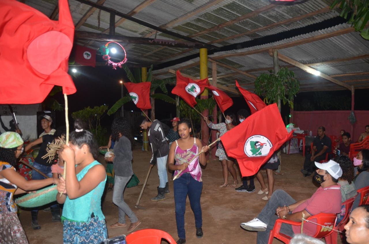 Movimento Sem Terra comemora loteamento do Pré-Assentamento Egídio Brunetto