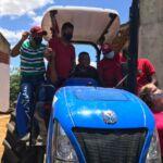 Conquista de trator para Assentamento Nova Deli, no extremo sul da Bahia