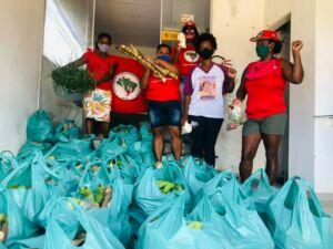 Jornada de Luta das Mulheres Sem Terra na Regional Baixo Sul da Bahia