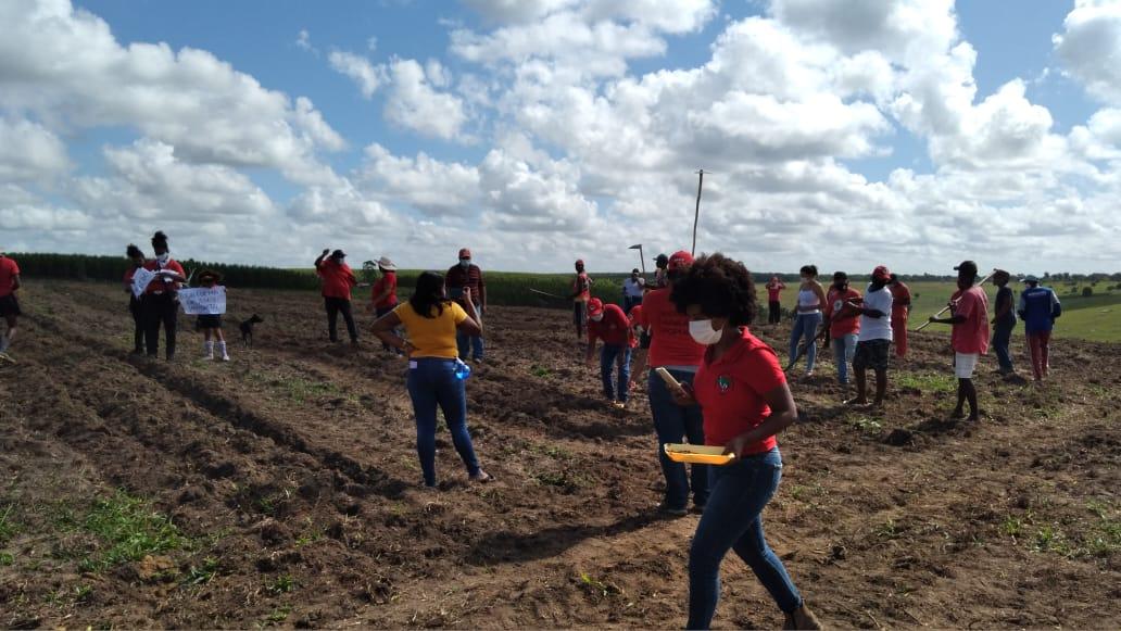 Na Bahia, MST planta Arvores e Alimentos em Homenagem aos 21 Sem Terras Assassinados no Massacre de Eldorado dos Carajás