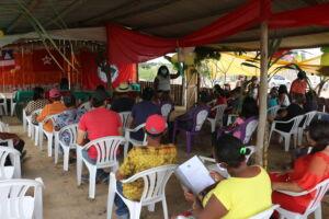 Em Porto Seguro, Acampados do Pré-Assentamento Irmã Dulce recebem o Mapa dos lotes