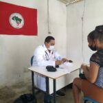 Famílias do Acampamento Fábio Henrique no município de Prado/BA recebem atendimento na área da Saúde e na área Jurídica
