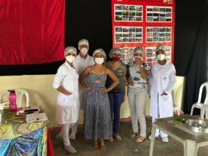 Famílias Sem Terra do Pré-Assentamento Bela Manhã participam de Oficina de Alimentação Saudável